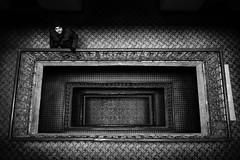 Stairwell (Mustafa Selcuk) Tags: istanbul karakoy street streetphotographer streetphotography travel turkey streetshooter blackandwhite bnw bw siyahbeyaz monochromatic monochrome fujifilm fujifilmtr xpro2