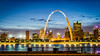 Gateway Arch St. Louis from Illinois by Mobilus In Mobili, on Flickr