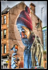Glasgow (jemonbe) Tags: glasgow escocia alba scotland jemonbe mural pintura petirojo