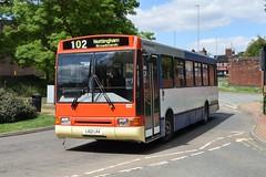 L102 LRA (markkirk85) Tags: wellingborough bus buses volvo b10b 58 northern counties ex high peak new trent 111993 102 b10b58 l102 lra l102lra