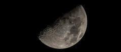 Cheeseball (CD_MT) Tags: 600mmf4 houston moon nightshot nightscene nikkor nikond4 texas tripod unitedstates