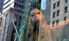 Bergdorf Goodman NYC (dw*c) Tags: berdorfgoodman nyc newyork window windows mannequin mannequins model models vitrine vitrines nikon picmonkey