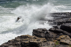 Making a splash! (andythomas390) Tags: waves sea rough crashing moelfre anglesey nikon d7000 18200mm