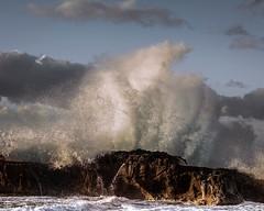 Sea show at sunrise (cekuphoto) Tags: castellabate italy sanmarcodicastellabate scogliodelcoccodrillo barca boat mare onde salerno sea seastorm waves explored inexplore