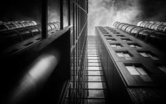 (Kijkdan) Tags: monochrome architecture rotterdam fujifilm xpro2 16mm blackandwhite