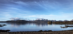A place to escape to. (lawrencecornell25) Tags: skye scenery scotland isleofskye waterscape landscape cuillins snow winter cold tokavaig nature outdoors nikond5