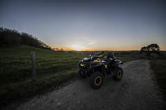 Balade de fin de journée (gougan21) Tags: canam outlander xtp coucher de soleil