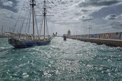 "jlvill 794 Aguas turbulentas (jlvill) Tags: mar temporal agua viento naturaleza barcos naves puertos faros 1001nights 1001nightsmagiccity ""exoticimage"""