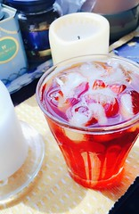 iced tea with sunshine (Gazz'n'Sho) Tags: pg tips tea black iced sunny