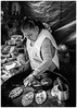 Mexico City, 2017 (Exit Imago) Tags: mexico ~food mexicocity tlacoyo cooking shop blackandwhite foodkiosk woman streetfood bw