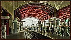 Canary Wharf.... (Tadie88) Tags: london canarywharf dlr platforms stations tonemapping canarywharflondon