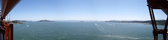 Views from the Golden Gate Bridge, San Francisco, California, USA (Rabafiel) Tags: california sea golden bay gate san francisco