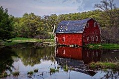 Rustic Red Reflections (Doug Wallick) Tags: red reflection minnesota barn zimmerman township lightroom livonia a55 explored mygearandme mygearandmepremium mygearandmebronze mygearandmesilver mygearandmegold mygearandmeplatinum mygearandmediamond