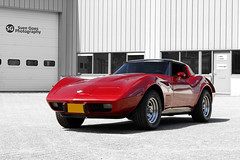1978 Chevrolet Corvette 25th Anniversary Edition (Sven Goes) Tags: holland chevrolet netherlands de photography anniversary nederland goes 1978 van 25th breda edition corvette sven the bruggen