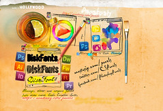 Photoshop Panels made in Hollywood! (colorwheels) Tags: california color art colors wheel digital photoshop painting design mix panel drawing creative mixer hollywood font schemes illustrator mixing manager fontmanagement mixcolors magicpicker diskfonts