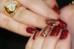 Shimmer (!S .!) Tags: glitter nail polish karina shimmer