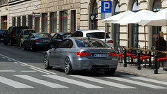 BMW M3 E92 (koza128) Tags: cars car grey poland polska spot bmw warsaw spotted m3 spotting warszawa mpower e92