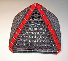 PYRAMID (mganans) Tags: origami snap polyhedron origamimodular snapology
