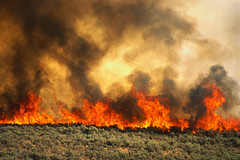 CB045962 (kappymann) Tags: usa hot fire photography smoke flames colorphotography nobody idaho boise northamerica damaged fires naturalworld disasters wildfires agriculturalfields croplands naturaldisasters rockymountainstates adacounty
