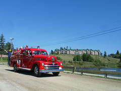 Seagrave Firetruck (dave_7) Tags: classic truck parade firetruck canadaday float seagrave invermere 2013