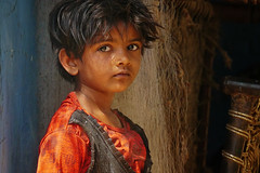 where the light shines (handheld-films) Tags: travel red portrait people india girl warm faces indian documentary naturallight villages portraiture madhyapradesh ruralindia