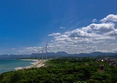 Summer Train (Masashi bon) Tags: city beach windmill japan train ngc  shimane  asari   gotsu    05