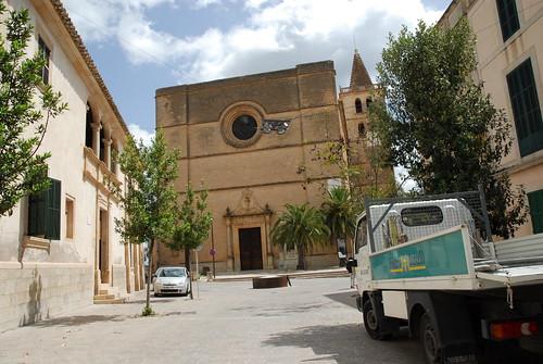 Avenue del Bisbe Campins, Porreres, Majorca, Mallorca, Balearic Islands, España, Spain