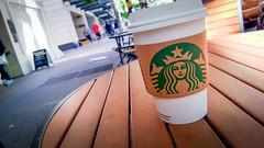 Public Market - WP_20130728_009 (Nicola since 1972) Tags: seattle wood green cup coffee logo table washington unitedstates diagonal starbucks mug lumia920 usa2013