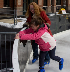 2013 Ice Skating in Lafayette, IN (Rob Slaven.) Tags: people cold fall ice women lafayette action iceskating butt skating indiana falling recreation laurazimmerman izzyslaven