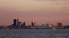 IMG_2816 (ruukivi) Tags: sunset sea sun water port tallinn estonia raw sailing yacht meri tallin vesi sadam eesti pirita purjetamine jaht päikseloojang