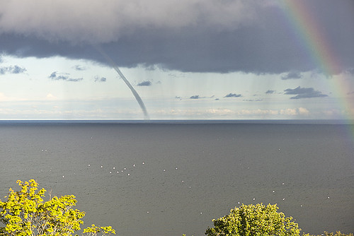 Waterspout, Snäck, Gotland by arkland_swe, on Flickr