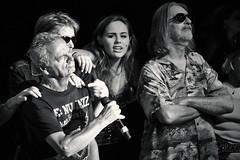 The Rock'n Rollator Show (miriess) Tags: monochrome rock germany bonn singing theatre generations contrasts contrasty rocknrollatorshow groovegrufties