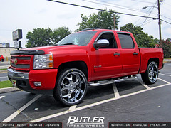 Chevy Silverado 1500 with 26in Asanti AF164 Wheels (Butler Tires and Wheels) Tags: cars car wheels tires vehicles chevy vehicle rims silverado chevysilverado asantirims asantiwheels butlertire 26inrims butlertiresandwheels 26inwheels 26inasantiaf164wheels 26ina