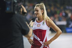 Winners (Ashley Baxter) Tags: camera england sport youth competition winner microphone championships interview netball athele worldyouthnetballchampionships