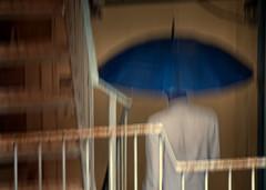 El paraguas azul.Mumbai (Pepe Posse) Tags: blue umbrella nikon monsoon mumbai