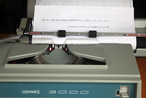 Hermes 3000, the cowboy typewriter, From FlickrPhotos