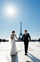 DSC_8595 (Andrey_Malgin) Tags: wedding summer white black paris love beautiful beauty seine bride couple dress happiness husband wife romantic suite mariage bridegroom trocadero