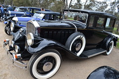 1929 Pierce Arrow (head in the hive - Brian) Tags: picnic bendigo 1929piercearrow marong racvgoldenoldiestour2013