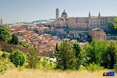 Urbino: veduta (www.turismo.marche.it) Tags: panorama skyline urbino paesaggio regionemarche provinciadipesaroeurbino