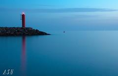 sin título-0142-4 (Sánchez Huelves) Tags: longexposure sunset sea lighthouse seascape reflection landscape atardecer spain nikon solitude paisaje murcia cielo larga exposición exposiciónlarga d90 theworldwelivein powerofart nikonflickraward vividstriking