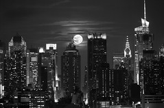 Gotham City (Photosequence) Tags: street new city nyc newyorkcity bridge usa moon newyork reflection skyline brooklyn canon river town reflex downtown cityscape unitedstates manhattan nj midtown uptown timessquare brooklynbridge eastriver jersey newyorkskyline empirestate astronomy hudson gotham northeast bigapple mid eastcoast 42nd northjersey theatredistrict photosequence supermoon faizanphotography