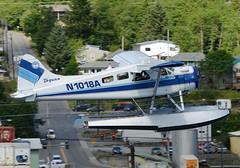 N1018A (John W Olafson) Tags: alaska beaver seaplane ketchikan floatplane dehavilland dhc2 taquanair n1018a