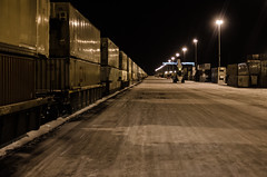 """Photos from my """"day"""" job (Colby Stopa) Tags: railroad winter canada cold calgary night cn dark nikon darkness trains nighttime trucking cnrail d7000 nikond7000 colbystopa photographybycolby cncalgary"""