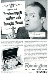 1948 Remington Shavers Bob Hope Paleface Christmas Advertising National Geographic December 1948 (SenseiAlan) Tags: christmas 1948 advertising hope december bob national geographic remington shavers paleface