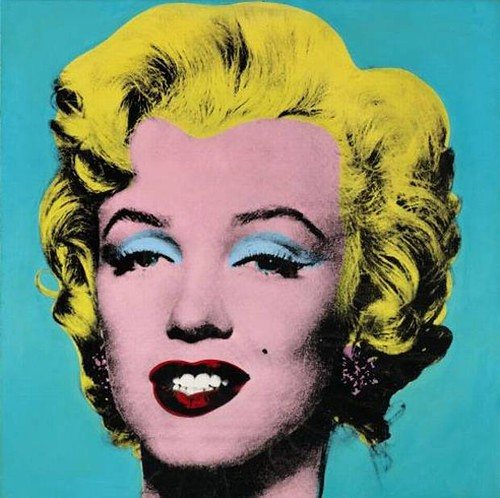 Warhol, Andy (1928-1987) - 1964 Turquise Marilyn (Private Collection)