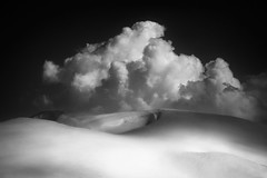 White Harmonies (a galaxy far, far away...) Tags: blackandwhite mountain snow france mountains nature monochrome clouds canon blackwhite mood outdoor snowy atmosphere monochromatic wilderness francia atmospheric biancoenero snowfields vanoise moncenisio snowdunes coldumontcenis abigfave parcnationaldelavanoise impressedbeauty flickrdiamond vanoisenationalpark 1740canon canon5dmarkii coth5 robertobertero