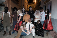 """Casa del Terror"" Cast & Crew (JF Sebastian) Tags: halloween costume group ariño casadelterror morethan100visits morethan250visits fujifilmxe11855"