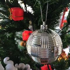 Chrismas Ornament #ภาพช๊าาดดด_ชัด #นี่ขนาดยังไม่ได้แต่งภาพเลยนะเนี่ย #บอกตามตรงว่าอินสุดสุด