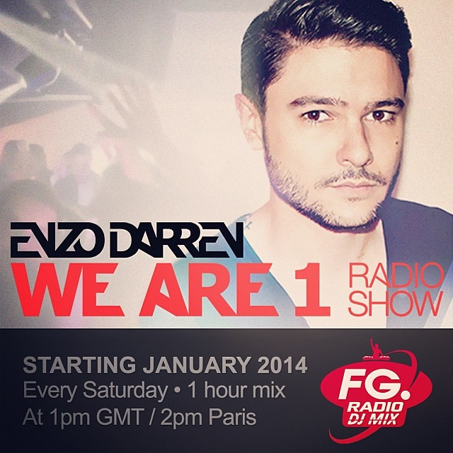 New radio show -We Are 1- on Radio Fg Dj Mix this January
