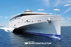 H270 102 Austal Trimaran (SSI ShipConstructor) Tags: ferry autodesk autocad ssi trimaran shipbuilding cadcam austal shipconstructor h270